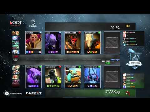 Stark vs Pries - Game 1 - BTS Europe #2 - Llama