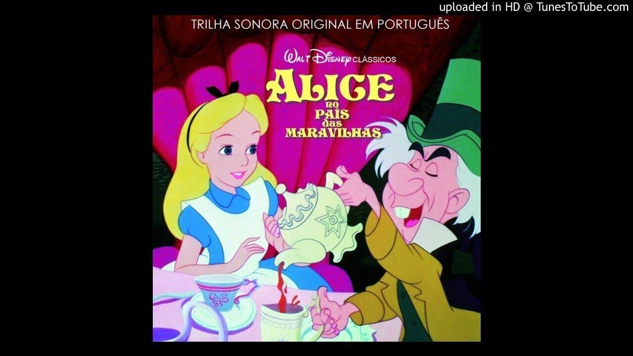 Alice no País das Maravilhas | É Tarde | Áudio do CD Oficial