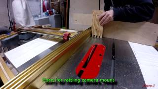 Cutting Box Joints With Jet Table Saw And Incra Fence