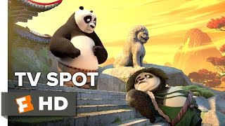 Kung Fu Panda 3 TV SPOT - A Father Rises (2015) -  Jack Black, Angelina Jolie Animation HD