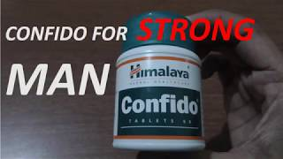 Himalaya CONFIDO Tablet Review | uses benefits and side effects