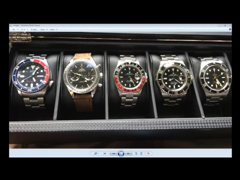 PAID WATCH REVIEWS WITH CLYVE - Anthony G Collection - Rolex, Tudor, Seiko