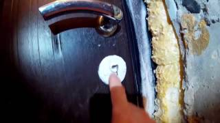 Промерзает дверь ? Есть решение...(, 2017-01-08T23:10:26.000Z)