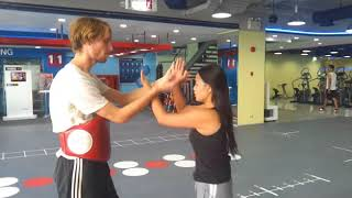 Women's Self Defence Boxing, Sparring and Chi Sao