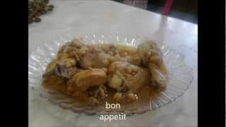 chtitha djaj (poulet)