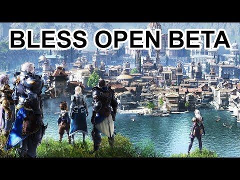 Bless Online Open Beta Trailer New World