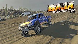 Baja: Edge Of Control HD (PS4) Circuit Race Uyuni Salt Flats - Tarantula Gultch (Mini Truck)