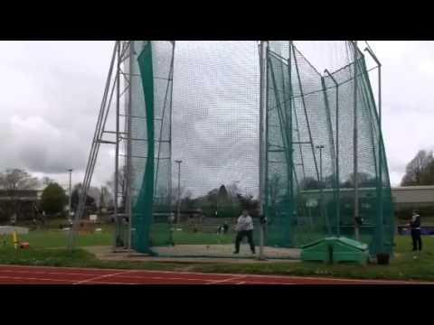 Matt Sutton 2015 Hammer throw April