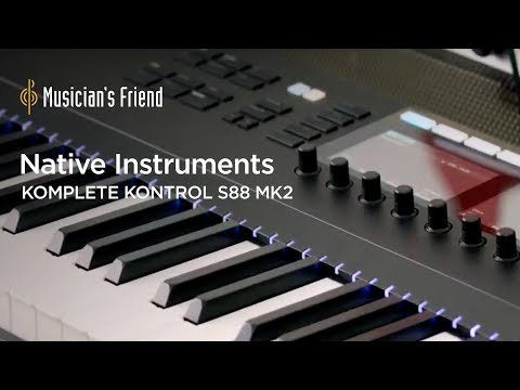 Native Instruments Komplete Kontrol S88 MK2 - Demo, Features and Specifications