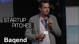 Baqend - Startup Pitch bei Startups @ Reeperbahn