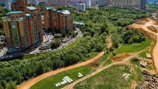 Продолжение вырубки деревьев в природном заказнике «Долина реки Сетунь».Москва / LIVE 27.05.19