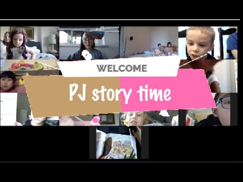 PJ Story Time #3 - On Line/live/book Reading/meeting