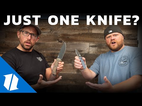 If you could only have one knife...? | Week One Wednesday Ep