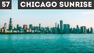 Chicago sunrise and Shedd aquarium / день 57