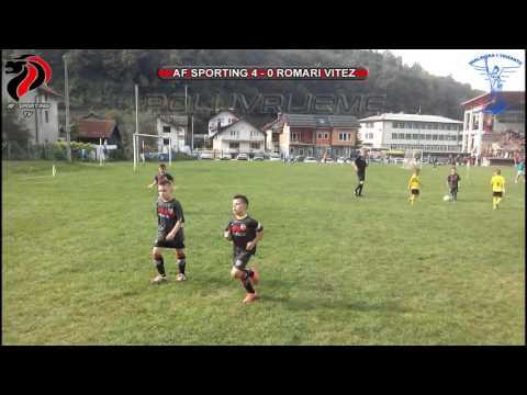 Kreševo Cup 2016 -godište 2009. POLUFINALE!!! - Romari Vitez - AF Sporting