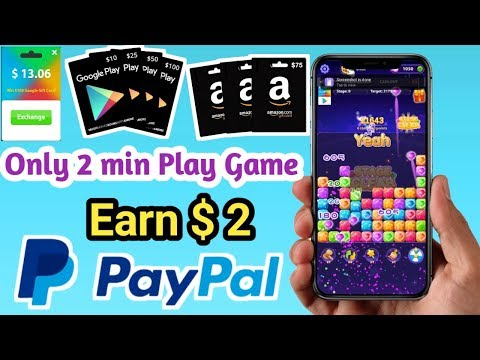 Only 2 Minute Play Game |Earn $2 |free Amazon Gift Card |Google Play Gift Card|Lucky Popstar App