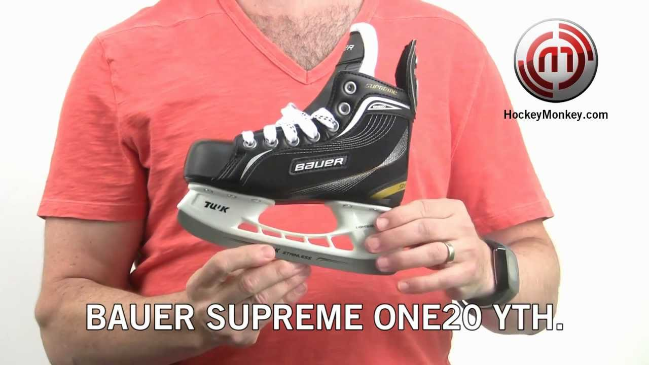 Bauer Supreme One20 Youth Skate Review