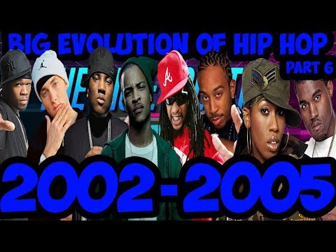 The Big Evolution Of Hip Hop Part 6 : The Rise Of The South 2002-2005 (Timeline Fan Point Of View)