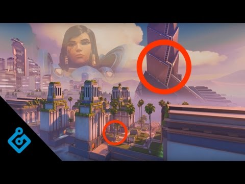 Blizzard's In-Depth Tour Of Overwatch's Oasis Map