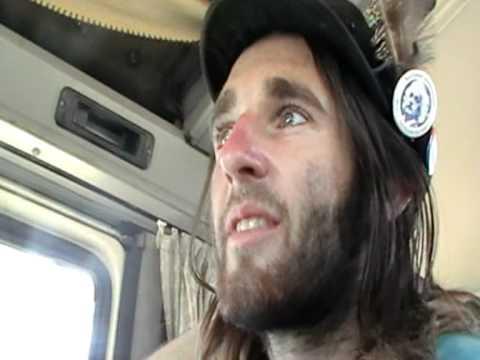 Hitchhiker talking about aliens he has met