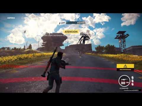 Just Cause 3 PS4 parte 7 cima leon torre central
