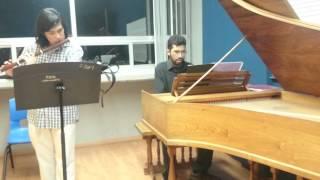 Telemann - Sonata metódica en Em Ópera XIII /Grave