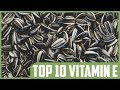 Top 10 Natural Dietary Sources of Vitamin E