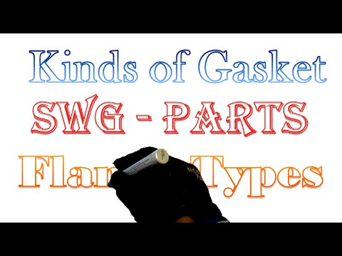 Kinds Of Gasket & Flange Types and Parts of Gasket - PipingWeldingNDT