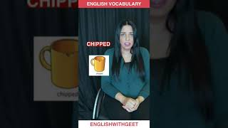 English Daily Use Vocabulary Words Phrases   English Speaking Practice   English With Geet   #Shorts
