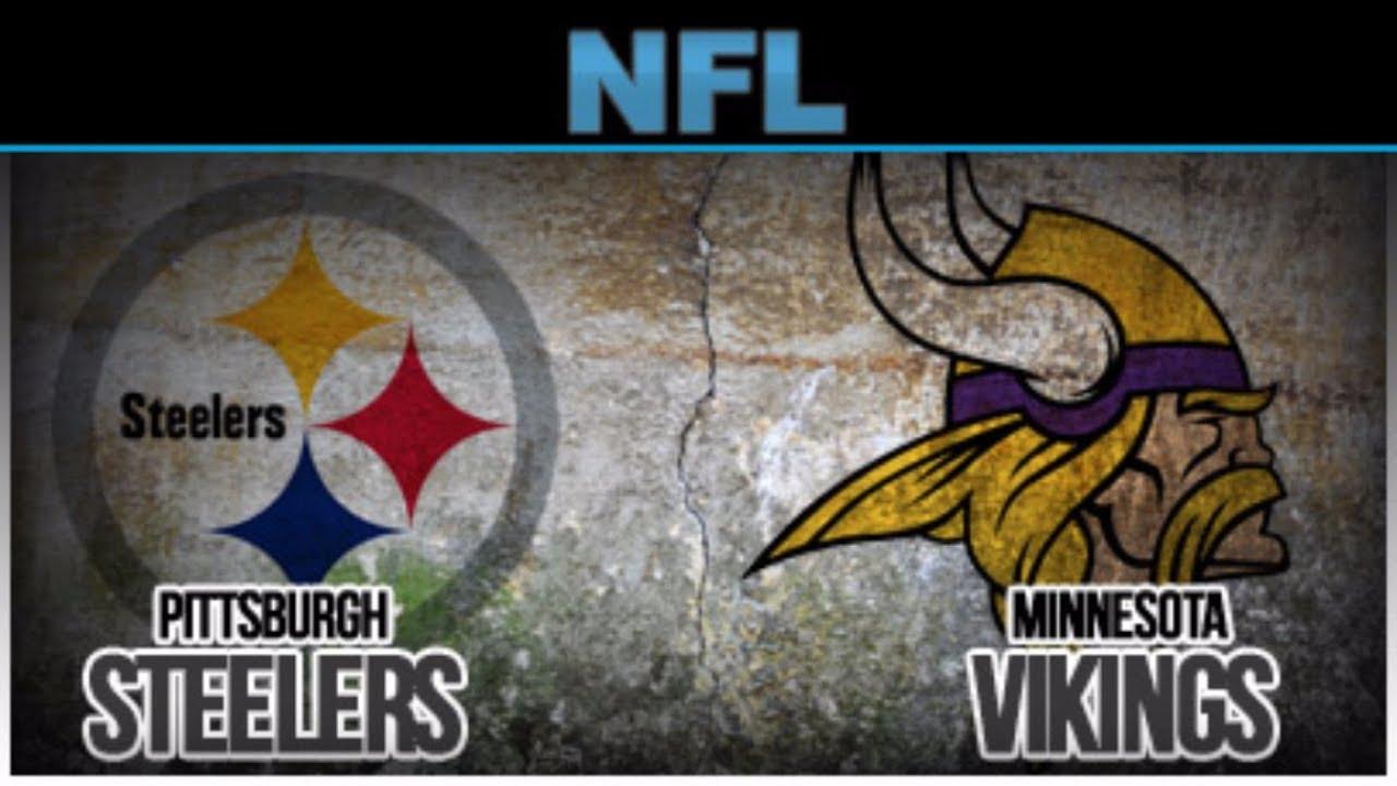 c9ae91d7a03 Minnesota Vikings vs Pittsburgh Steelers