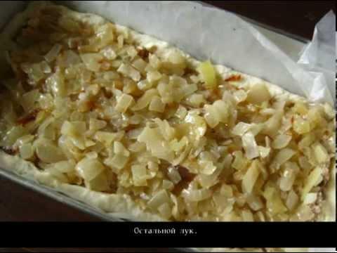 Заливной пирог с консервированной горбушей. Пошаговый рецепт с фото