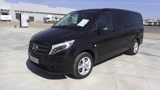 2016 Mercedes-Benz Vito Tourer Select 116 CDI Bluetec 4Х4. Start Up, Engine, and In Depth Tour.(, 2016-04-25T17:40:28.000Z)