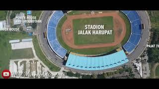 Keadaan Stadion Jalak Harupat Sekarang Part 2