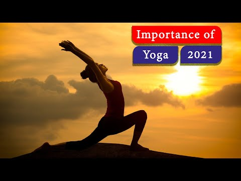 International Yoga Day 2020 Importance Of Yoga In Our Daily Life 21st June 2020 Youtube
