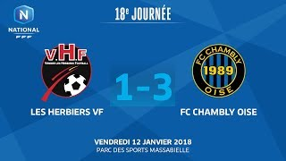 Les Herbiers vs Chambly full match