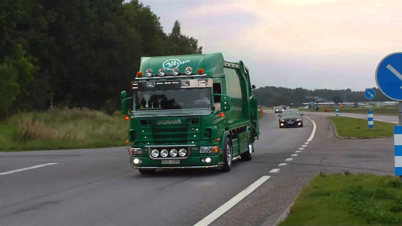 worlds best sounding looking scania garbage truck youtube. Black Bedroom Furniture Sets. Home Design Ideas