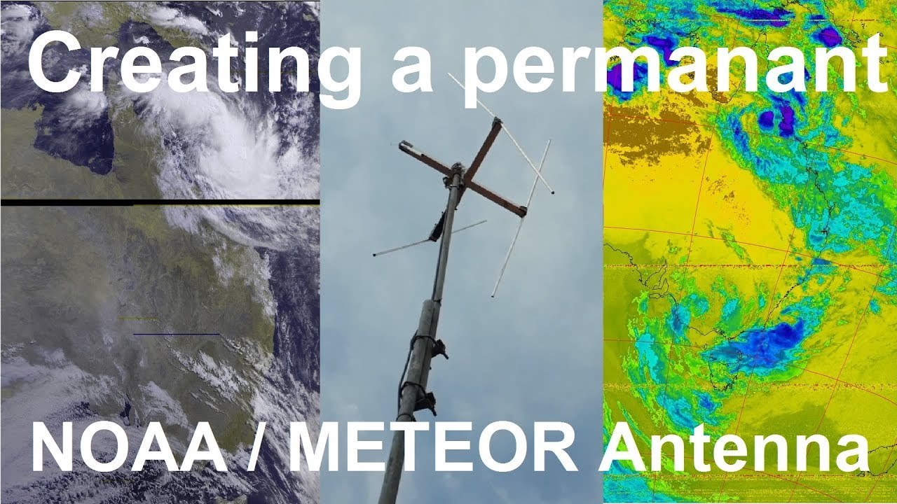 Download NOAA/METEOR SDR Antenna for weather satellite images
