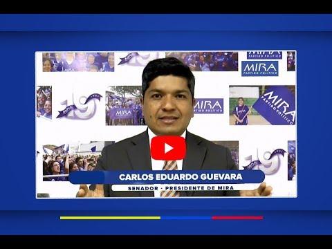 Inicio inscripciones Candidatos MIRA 2019 en todo el país - Mensaje de Presidencia