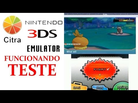 Citra Emulador de 3DS (Build Não Oficial) - PC ~ Pokemon Saves