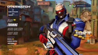 Playing some overwatch for the first time