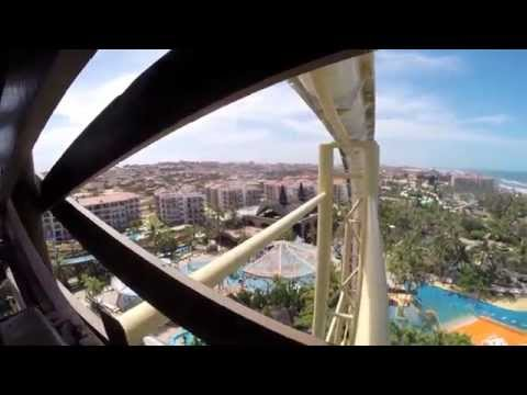 INSANO, World's HIGHEST Water Slide! (EXTRA SECOND SLIDE IN END OF VIDEO!!!!)
