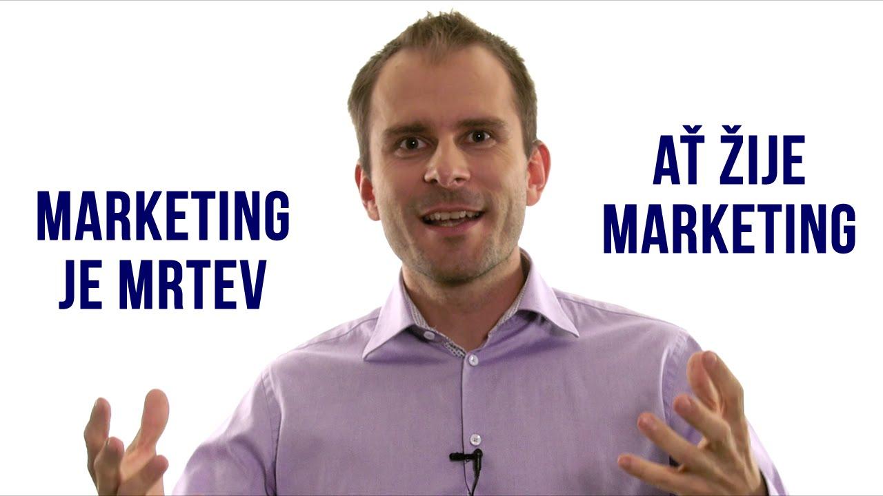 marketing je jako randění seznamka restaurací v kl