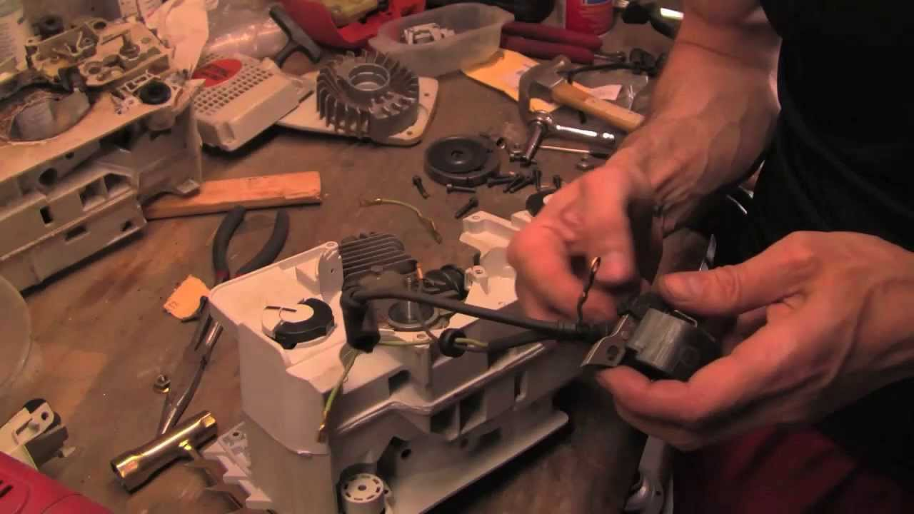 maxresdefault detailed and complete reassembling of stihl chainsaw (ms390) youtube stihl ms290 wiring diagram at virtualis.co