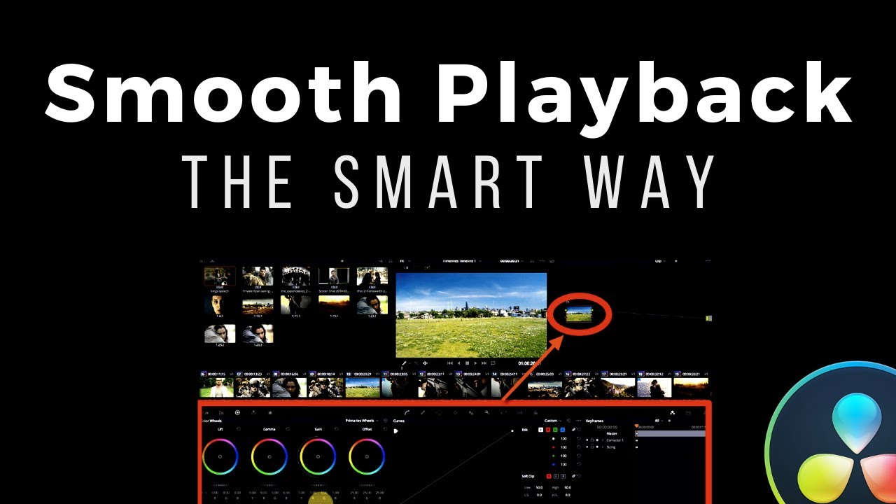 Resolve playback caching is smarter than you think. Really.