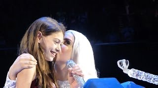LADY GAGA AND MY DAUGHTER ARABELLA SINGING GYPSY MOHEGAN SUN 5/10/14 & EXTRA CLIPS OF HER WITH GAGA