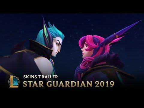 Scattered Stars  Star Guardian Skins Trailer - League of Legends