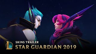 Scattered Stars | Star Guardian Skins Trailer - League of Legends