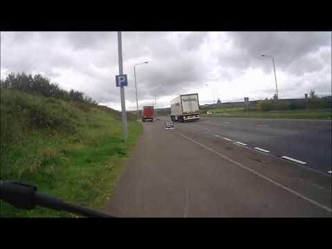 Lorry Parking At The Lay By 24 October 2017