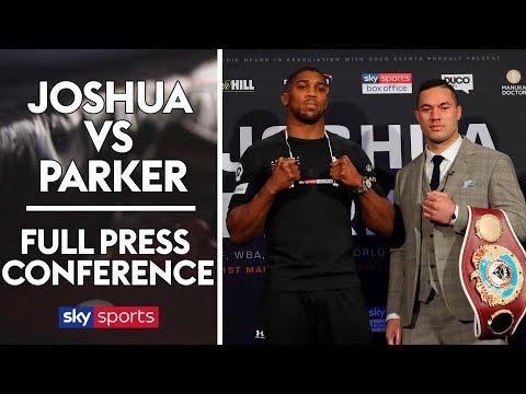 Anthony Joshua vs Joseph Parker | Press Conference