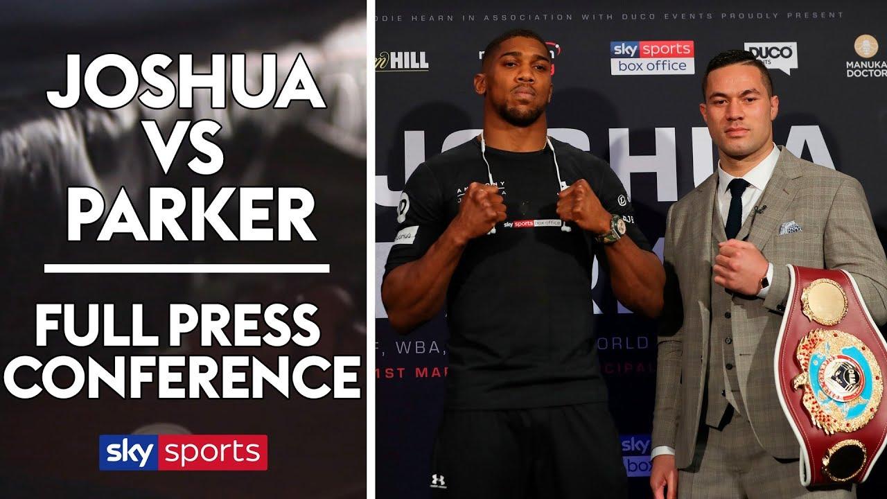 Anthony Joshua vs Joseph Par**** | Press Conference